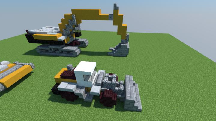 Construction vehicle bundle minecraft project - Video minecraft construction ...