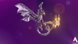 Arutema the Silver Dragon Minecraft Project