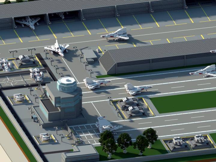 minecraft air base