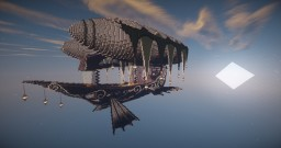 The Elfin Tide - Air Ship Minecraft Map & Project