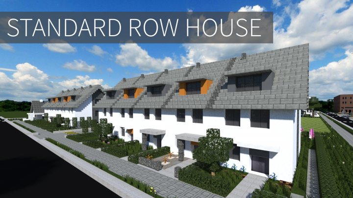 Standard Row House Minecraft Project
