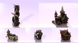 五个小屋子five small houses Minecraft Map & Project