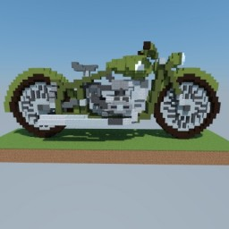 Dnepr MT-11 Motorcycle Minecraft Map & Project