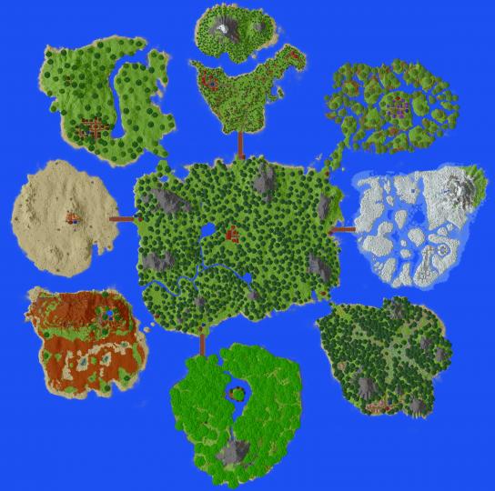 Pixelmon Island
