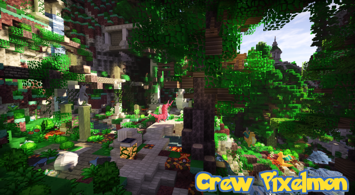 Pixelmon Adventure Map - Crew Pixelmon Minecraft Project