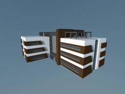 Build Of Majoras | Dental Hospital | MDRN Minecraft Map & Project
