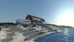 Modern Beach House   FIRST RENDER! Minecraft Map & Project