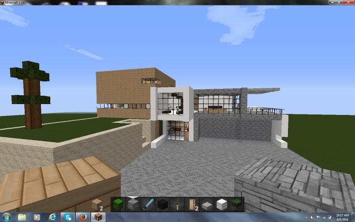 Lab Rats Davenport House Minecraft Project