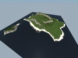 Custom terrain - Island - 2x2k blocks #weareconquest