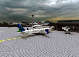 Airbus A321-200 [1:1] Minecraft Map & Project