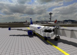 Airbus A320-200 [1:1] Minecraft Map & Project