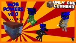 Mob Powers in One Command v2.0 Minecraft Map & Project