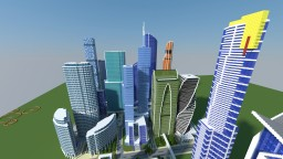 Moscow International Business Center Minecraft Map & Project