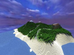 Mountains by the River (648 x 648 Epic Terrain) [My First Terraforming!] Minecraft Project
