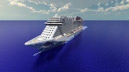 Norwegian Escape [1:1 Scale - Real Cruise Ship] + [Full Interior] [1.8] (POP REEL!) Minecraft Map & Project