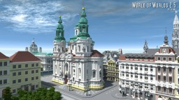Old Town Square Prague, Czech Minecraft