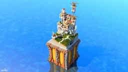 Roman fantasy build with interiors [plot 50x50] #2 Minecraft