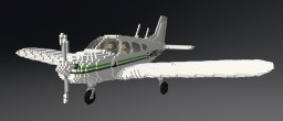 Minecraft Plane 20/1 Piper Cherokee PA28 Minecraft Map & Project