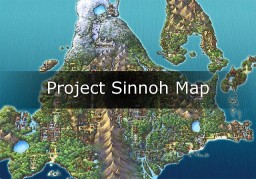 "[Map 2/1] Pokemon Diamant Minecraft ""Sinnoh"" Minecraft"