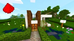 Smallest Redstone House In MCPE Minecraft Blog