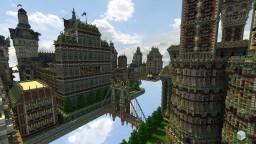 Thereawakens ~ Khaledonia Flying Empire ~ Timelapse Minecraft