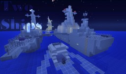Two Warships - PvP/FPS Arena Map Minecraft Map & Project