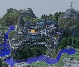 Building in the mountains Minecraft Project