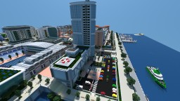 Symount City: North Side Hospital Minecraft Map & Project