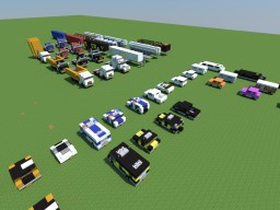 Cars + Trucks Bundle Minecraft Map & Project