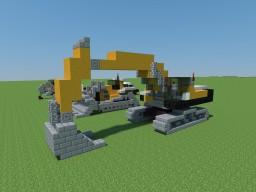 Construction Vehicle Bundle Minecraft
