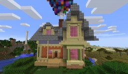 House from up Minecraft Map & Project