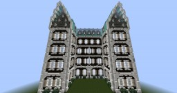 4 Story 20th-Century Mansion Minecraft Project