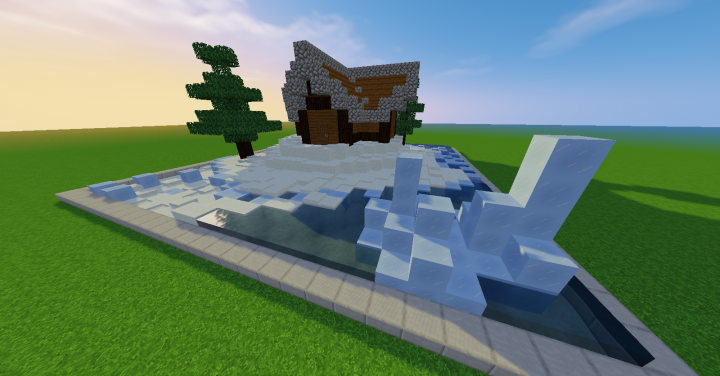 1 10 House Nordic Minecraft Map