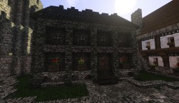 Medieval Town House Minecraft Map & Project