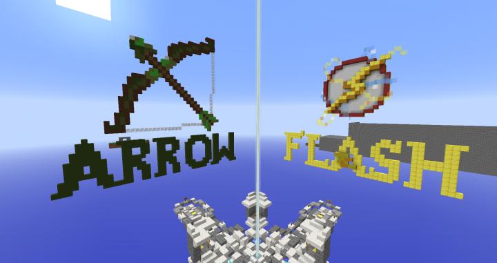 Flash S Head Minecraft Builds