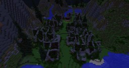 Spectria - A haunted town for a movie. Minecraft Project