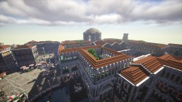 Roman thermal baths Minecraft Project