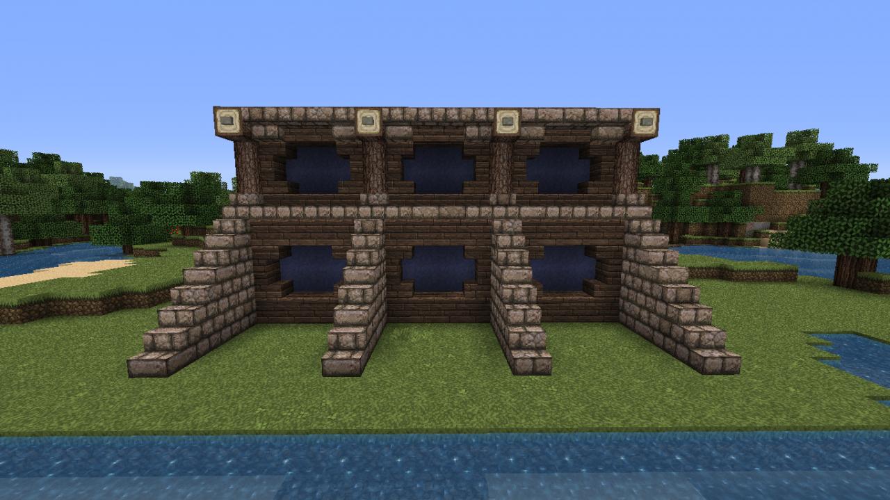 . Medieval wall idea Minecraft Project