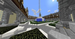 Large Medieval Town Spawn and Shops Minecraft Map & Project