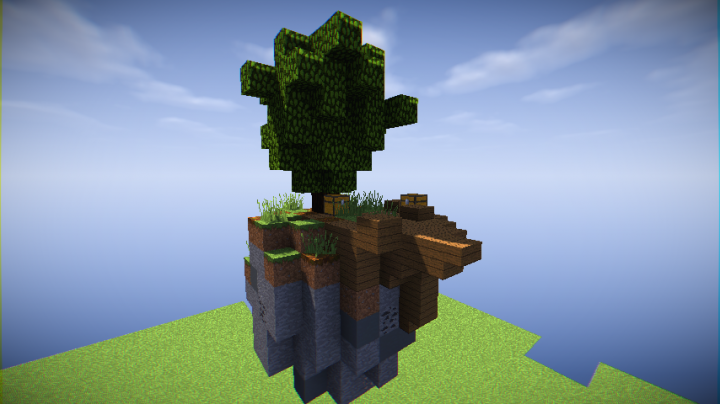how to build a minecraft skywars map