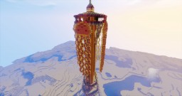 Jellyfish Space Needle Minecraft Map & Project
