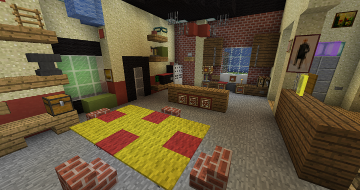 Icarly Set And Nickelodeon Studio Minecraft Project