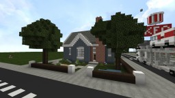 Modern Suburban Pack Minecraft Project
