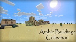 Arabic Themed Buildings Collection Minecraft Map & Project