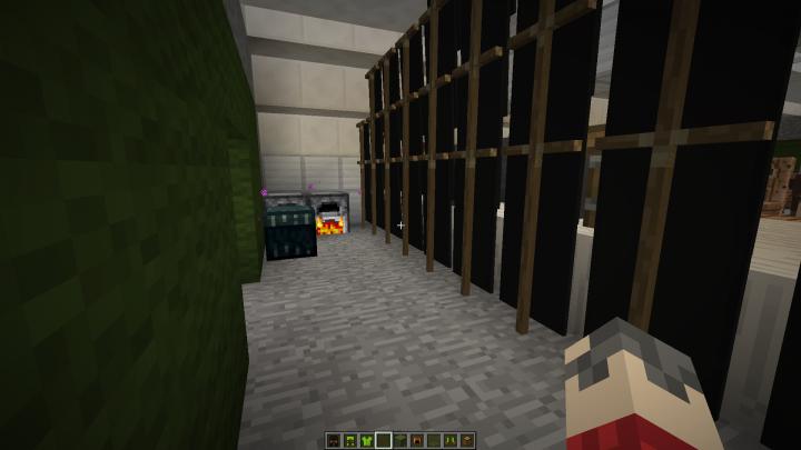 Exterior: Chapel Interior Minecraft Project