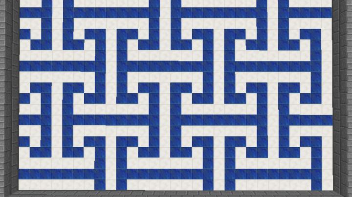 Fancy Floor Design Minecraft Project