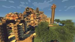 Aeromax: A Minecraft Heaven Gothic Build. Minecraft Project