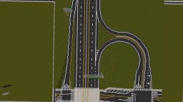 Minecraft Highway Interchange Minecraft Project