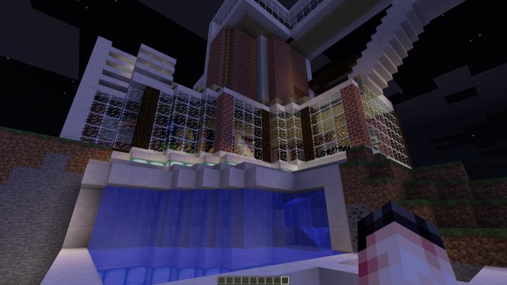 Billion Dollar Mansion Minecraft Project