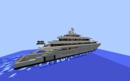 Minecraft Custom Megayacht: Sverige Minecraft Map & Project
